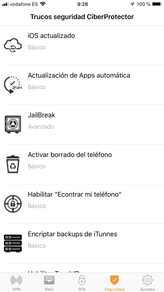 ciberprotector-ios-checks