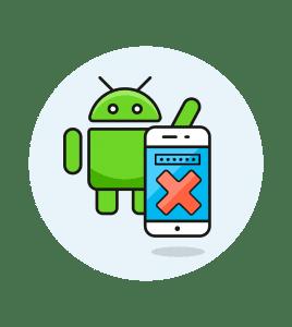 Borrar datos al fallar excesivamente el código de acceso en Android