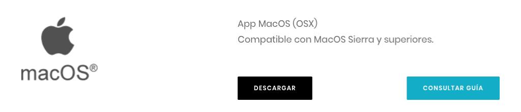 Descarga la aplicación para macOS
